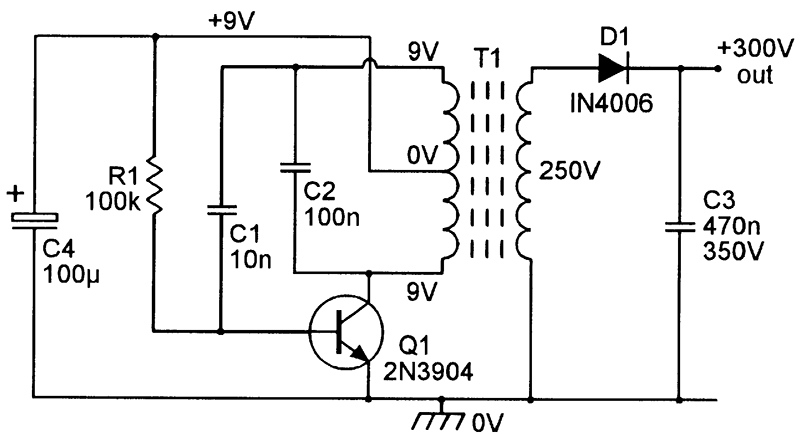 Dc Voltage Converter Circuits on example circuit diagram