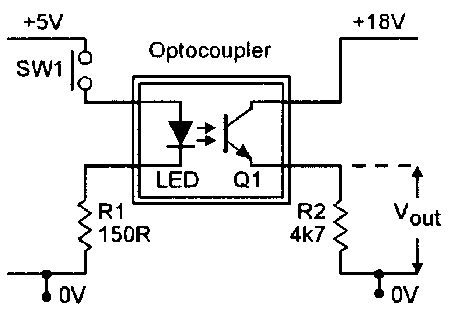Optocoupler Circuits on 12v led light circuit diagram