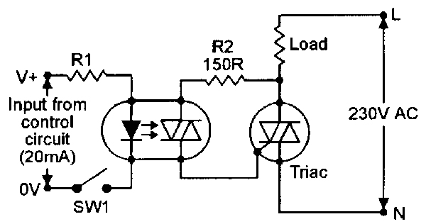 optocoupler circuits