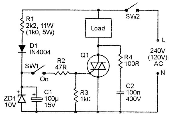 Triac Principles And Circuits Part 1 Nuts Volts Magazine