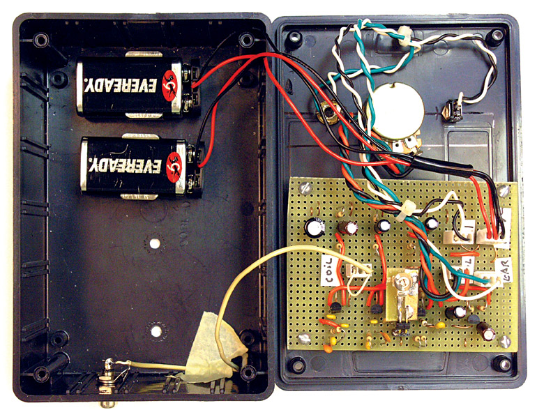 Build A Four Transistor Metal Detector | Nuts & Volts Magazine on