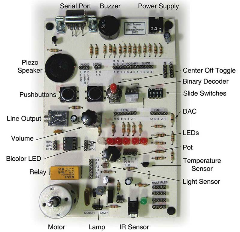 Build Your Own PIC Trainer from Surplus | Nuts & Volts Magazine