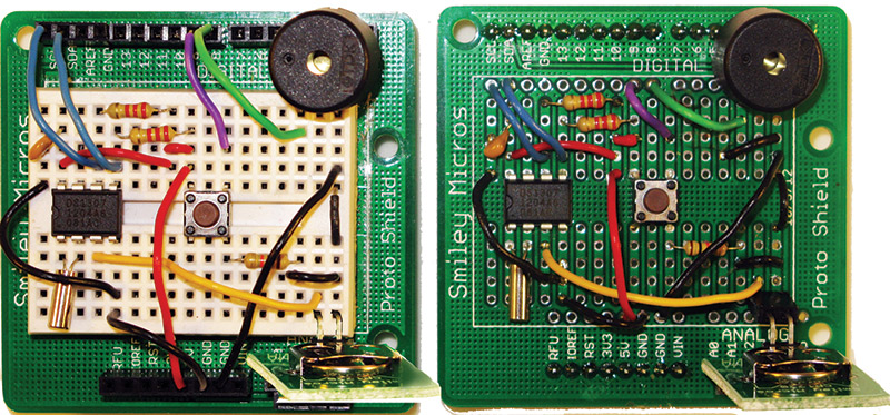 Smiley's Workshop 55: The Arduino Proto Shield Alarm Clock — Part 2
