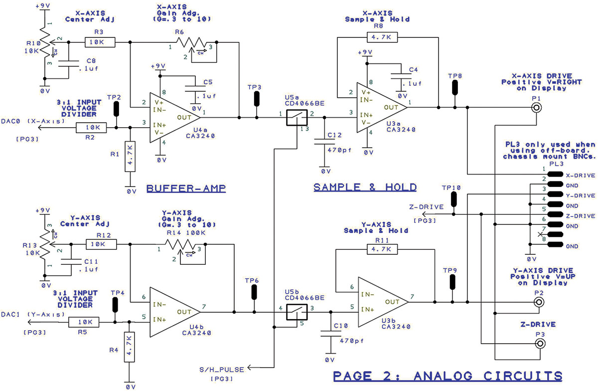 The Arduino Graphics Interface Part 1 Nuts Volts Magazine Figure 3 Vital Electric Components Of Flash Circuitry 6 Analog Section Agi