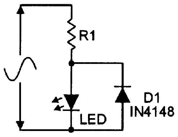 practical led indicator and flasher circuits nuts \u0026 volts magazineusing an led as an indicator in an ac circuit
