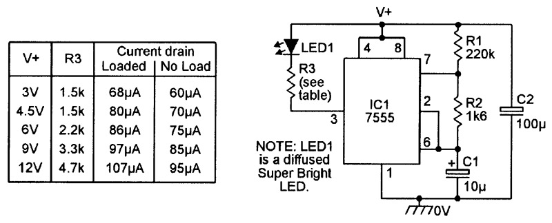 Practical LED Indicator And Flasher Circuits | Nuts & Volts ... on
