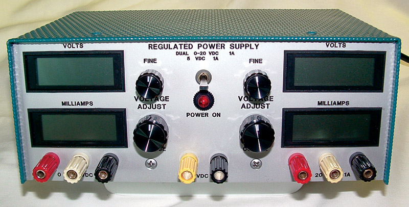 Electronic Test Benches : A test bench power supply nuts volts magazine