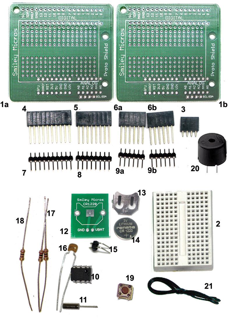 Smiley's Workshop 56: The Arduino Proto Shield Alarm Clock