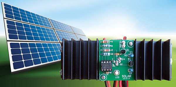 Build An Inexpensive 12 Volt  12 Amp Modern Digital Solar