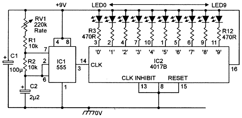 LED Chaser/Sequencer Circuits   Nuts & Volts Magazine