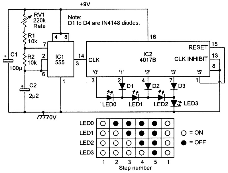 NV_0400_Marston_Figure13 led chaser sequencer circuits nuts & volts magazine for the led sign wiring diagram at fashall.co