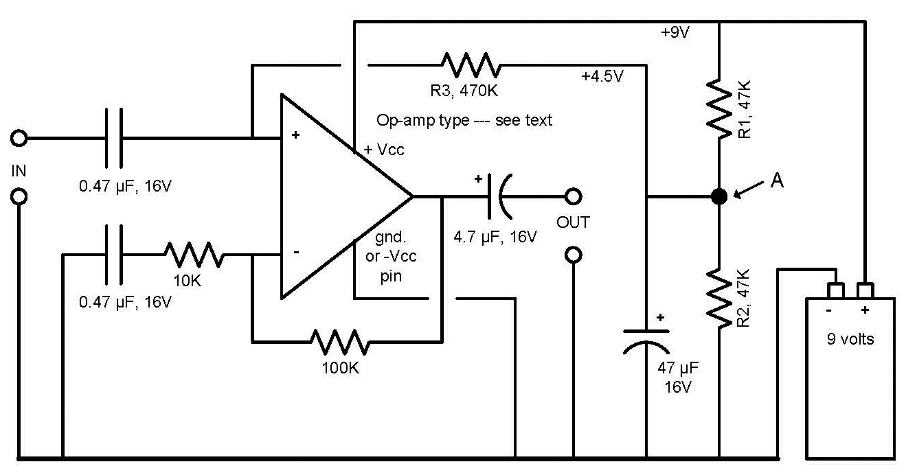 how to trick an op amp nuts \u0026 volts magazinethis non inverting version requires a few more components than does the inverting version shown in figure 1 point \u201ca\u201d will feed several more op amps,