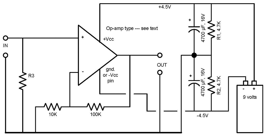 how to trick an op-amp - nuts  u0026 volts magazine