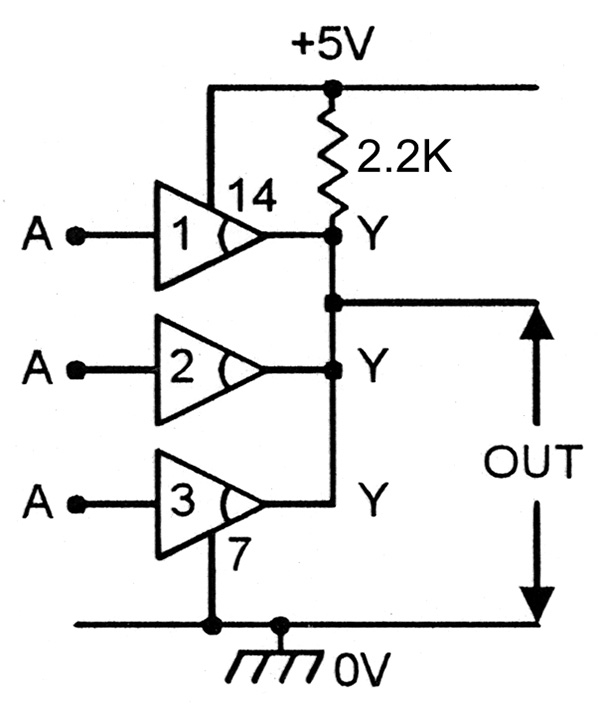 Understanding Digital Buffer Gate and Logic IC Circuits Part 1