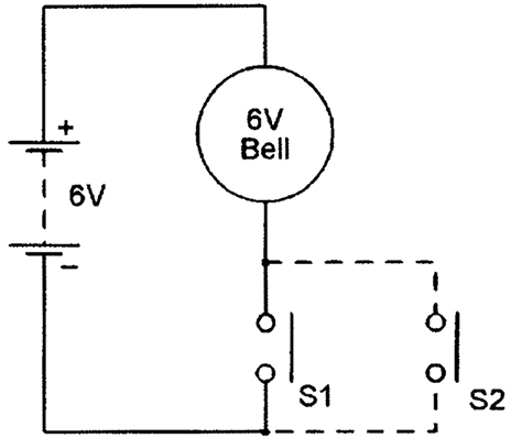Normally Open Circuit Diagram on open close stop switch schematics