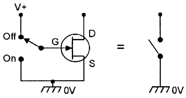 JFET N-Channel Switch