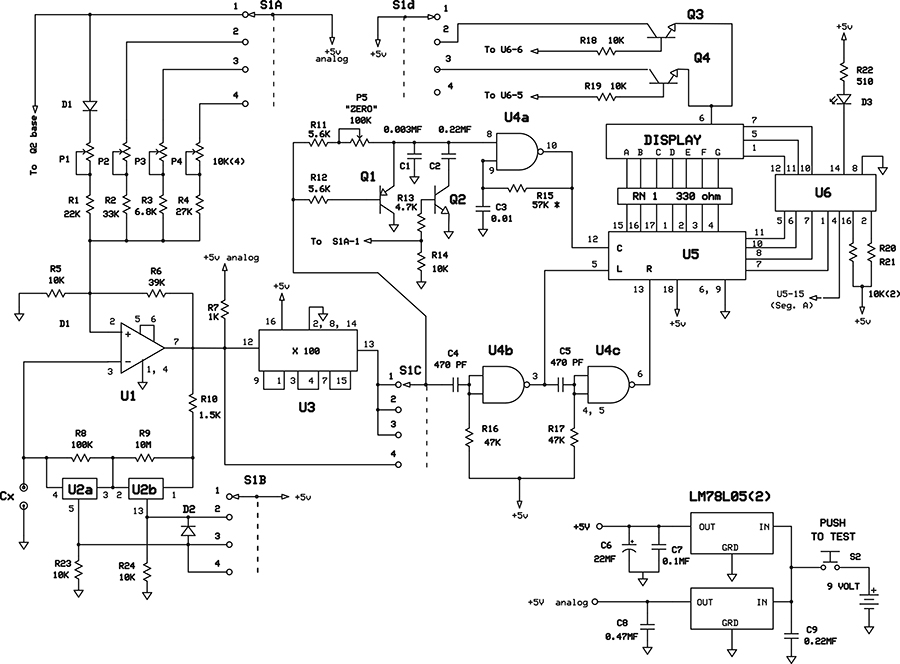 A Digital Capacitance Meter - Nuts & Volts Magazine - For The ...