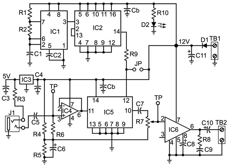 build a voice changer - nuts & volts magazine - for the, Wiring circuit