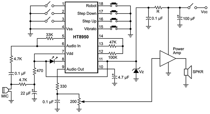 Build A Voice Changer | Nuts & Volts Magazine