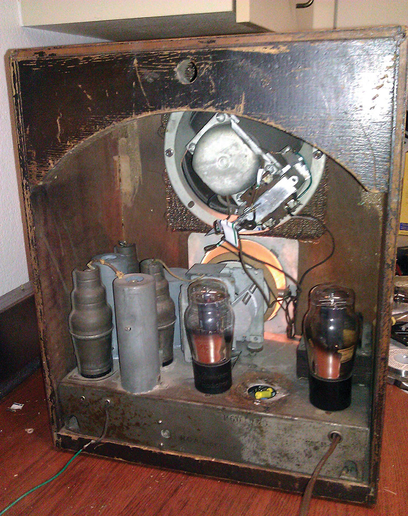 Fix Up That Old Radio Nuts Volts Magazine Cost To Replace Knob And Tube Wiring This Simplex Model P Tombstone Has An Extra Bolted On Output Transformer Is Missing A Filter Capacitor Can