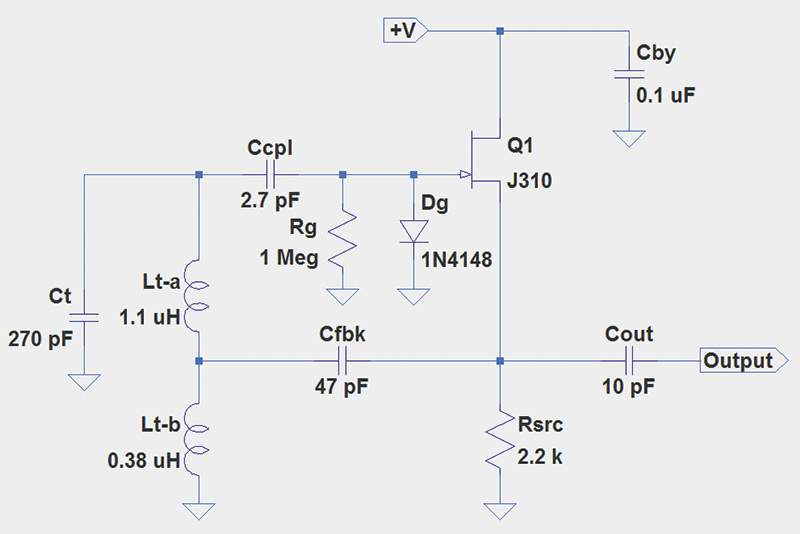 Astounding Pierce Xtal Oscillator Using Jfet Circuit Schematic Diagram Wiring Wiring Digital Resources Cettecompassionincorg