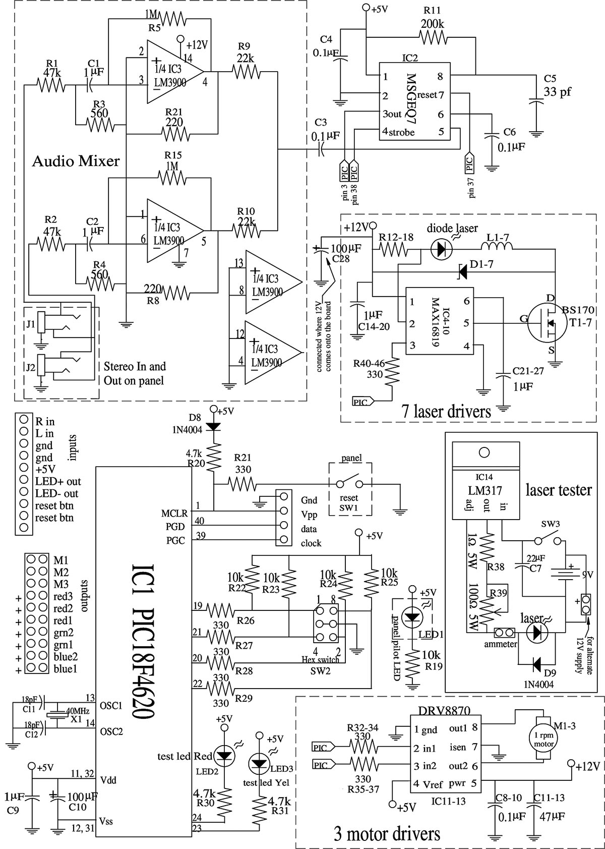 rainbow effect machine schematic explore schematic wiring diagram u2022 rh webwiringdiagram today