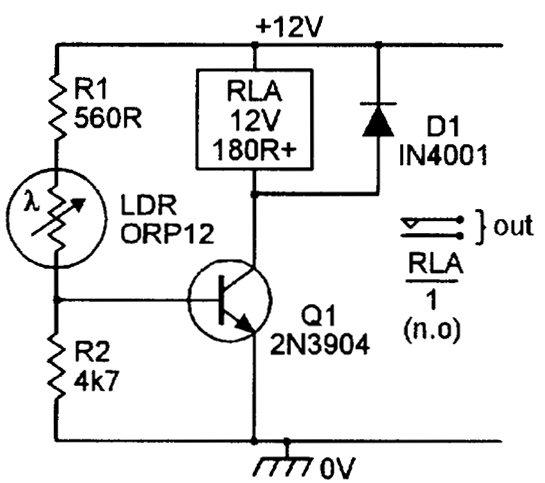 ldr circuit diagram with relay  u2013 ireleast  u2013 readingrat net