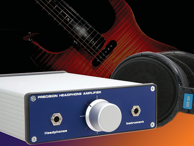 Precision Stereo Headphone Amplifier | Nuts & Volts Magazine
