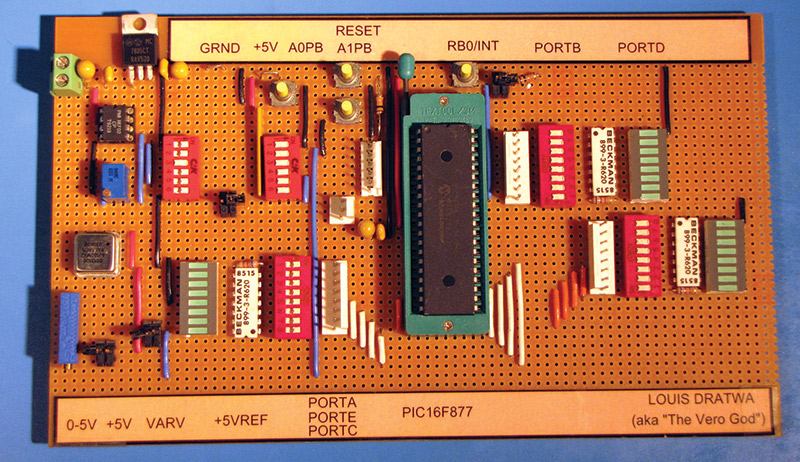 The Lost Art of Strip Board Prototyping | Nuts & Volts Magazine