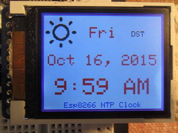 ESP8266 NTP Clock | Nuts & Volts Magazine