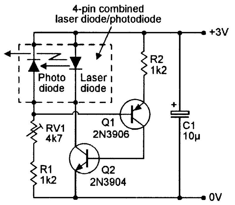 555 Timer Driver likewise 119294 Interesting Small Lm317 Enhanced Power Supply Circuits Explained together with Using Npn Bjt With A P Channel Mosfet To Switch 3 3v To 24v as well Bs Symbol Electrolytic Capacitor likewise Laserdps. on laser diode driver schematic
