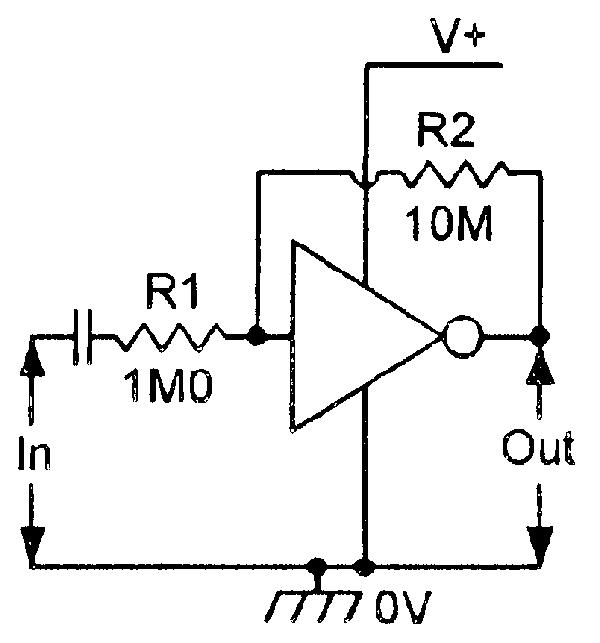 cmos inverter amplifier