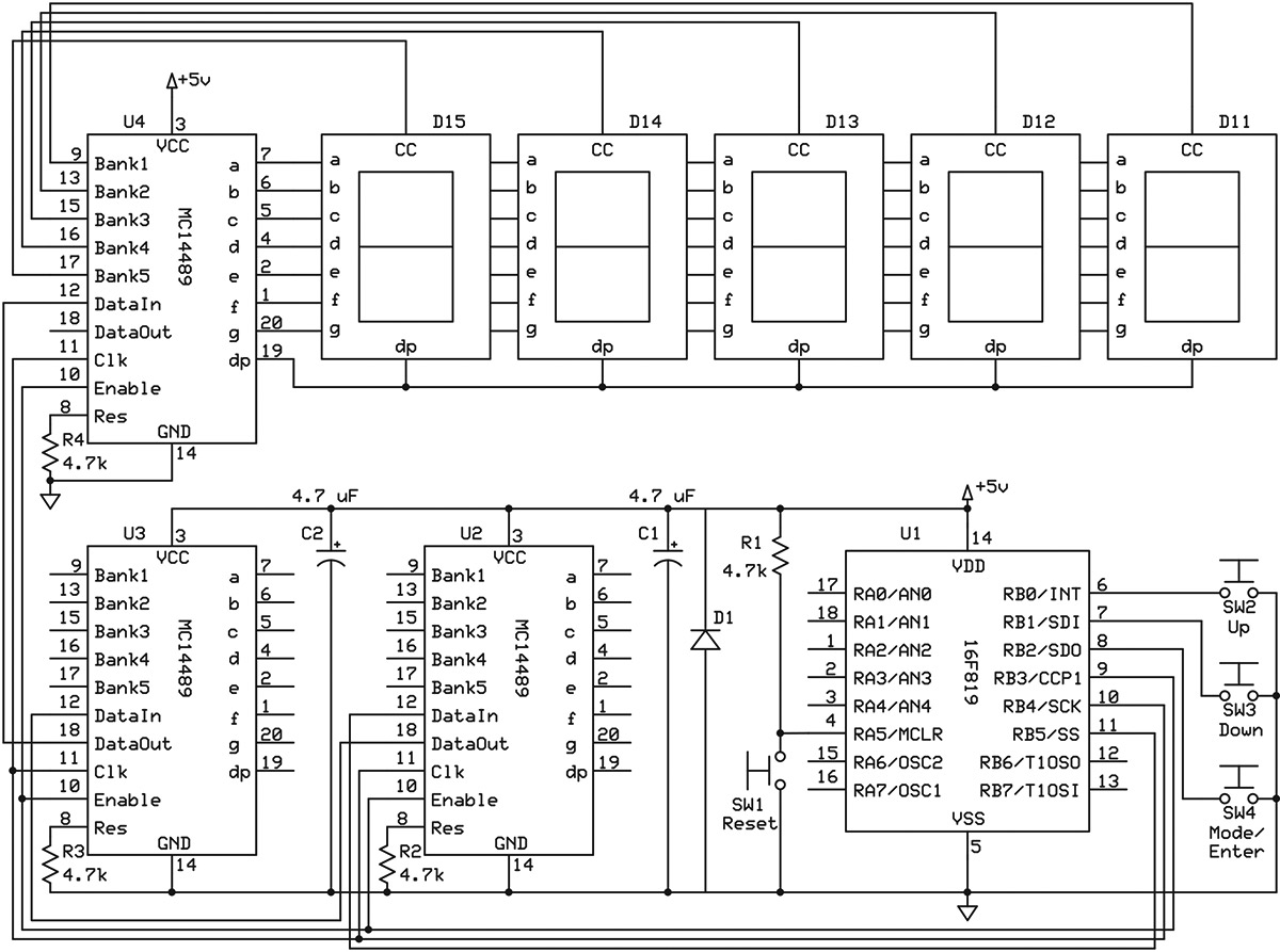 7 Segment Display Logic Diagram Electrical Wiring Diagrams 4312 Seven Pin Work 0712