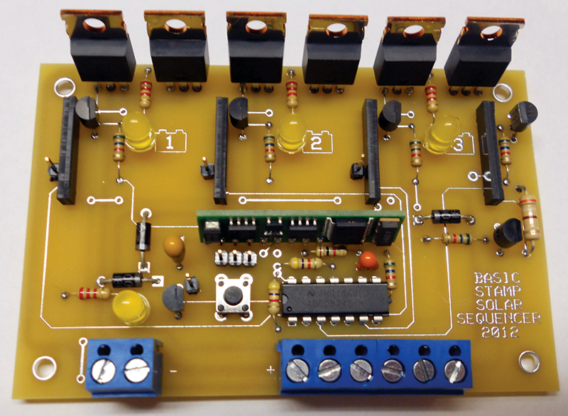 build the solar sequencer nuts   volts magazine Circuit Board for Starters Make Your Own Circuit Board