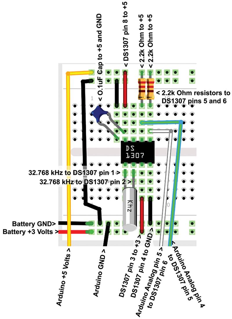 Smileys Workshop 48 Its About Time Nuts Volts Magazine Project 61 Breadboarded High Pass Filter Breadboard Wiring Guide
