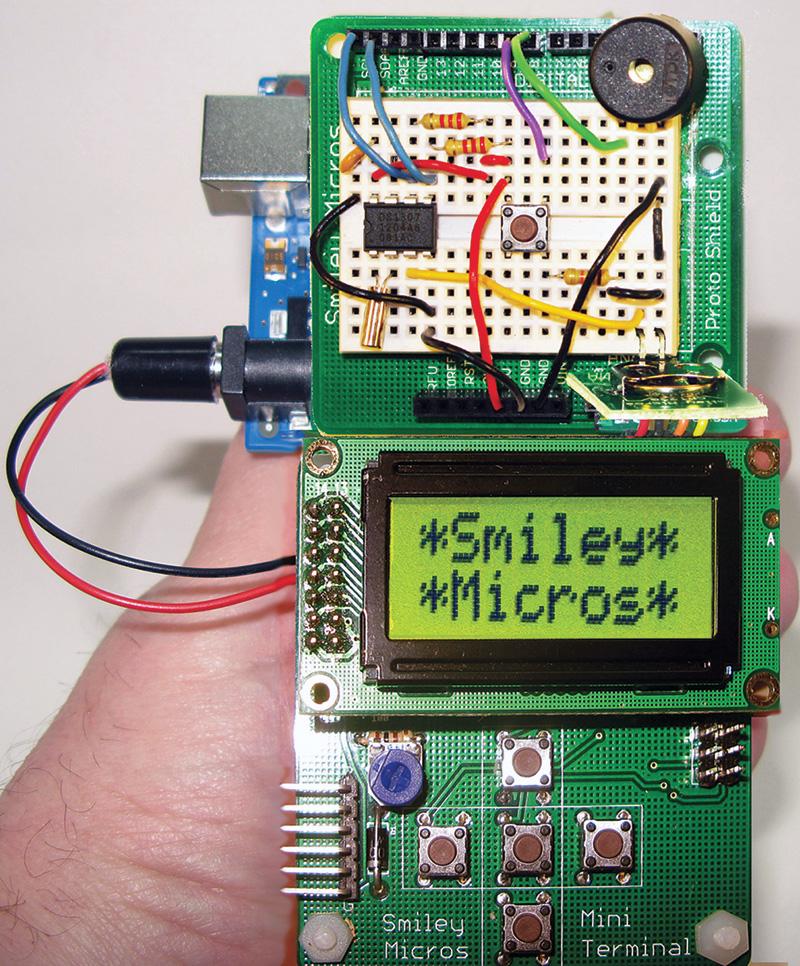 Smiley's Workshop 60: Arduino Handheld Prototyper — Part 1