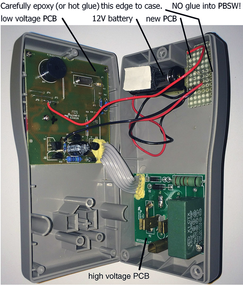 modify a kill a watt ez power meter for low voltage operation the loose wires are positioned above the controller pcb and do not loop down into the ac board area final layout for the project is shown in figure 8