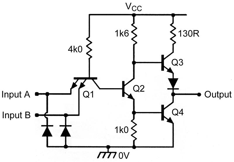 Understanding digital logic ics part 2 nuts & volts magazine TTL 7400 Schematic 1911 Schematics and Parts Lists Remington 7400 Diagram