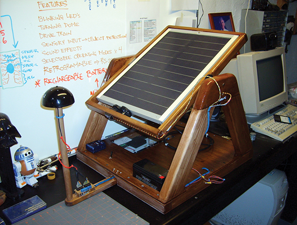 Solar Tracker | Nuts & Volts Magazine