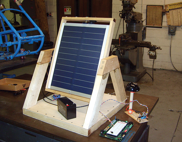 Solar Tracker coming together in the WVU Tech machine shop.