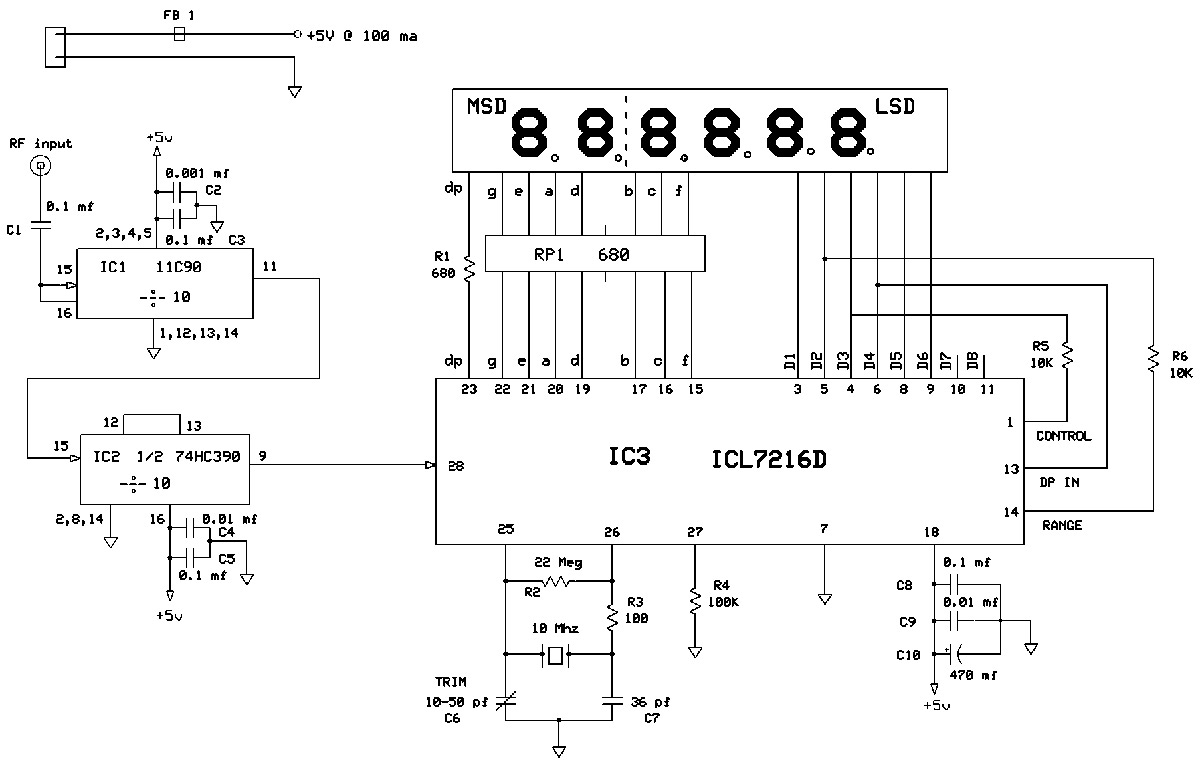 Frequency Counters And Retrofitting Nuts Volts Magazine Segment Counter Display Circuit Diagram Figure 1