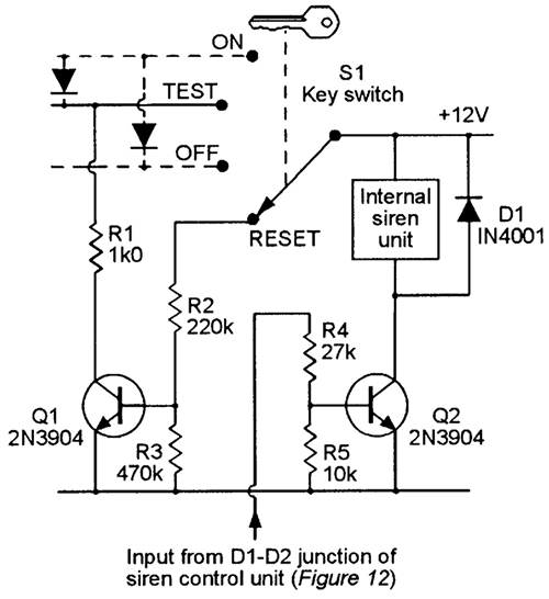 security electronics systems and circuits part 7 nuts volts rh nutsvolts com Electronic Siren Circuit Burglar Alarm Circuit Diagram Simple