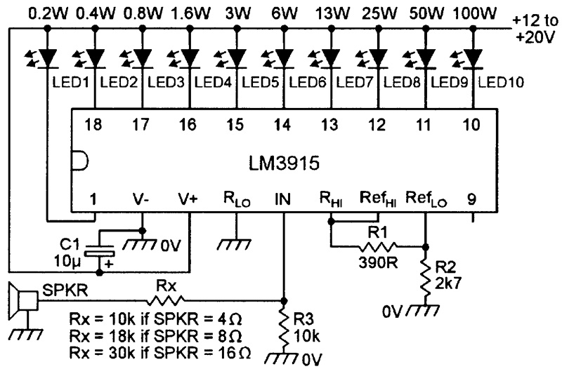 Tremendous Led Graph Circuits Nuts Volts Magazine Wiring Cloud Pendufoxcilixyz