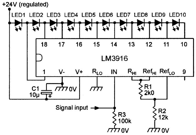 Admirable Led Graph Circuits Nuts Volts Magazine Wiring Cloud Pendufoxcilixyz