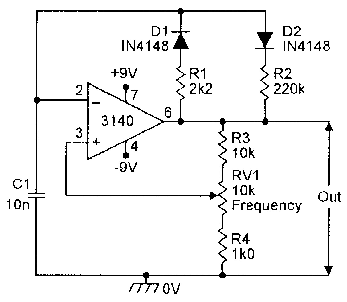 Op Amp Cookbook Part 3 Nuts Volts Magazine Voltage Divider Network Has The Ability To Generate Different Voltages Variable Frequency Narrow Pulse Generator