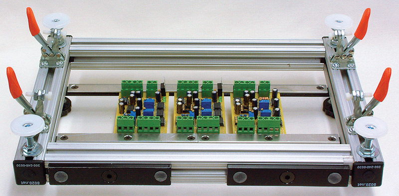 Nv Collier Figure on Low Profile Pcb Mounting
