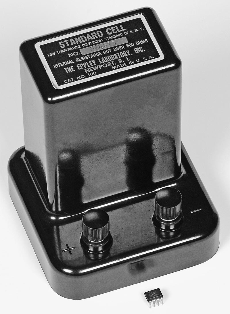Can You Trust Your Voltmeter Nuts Volts Magazine Digital Lcd Ac Dc Voltage Continuity Circuit Tester Ta Ebay The Weston Standard Cell Made By Eppley Was Worlds Primary For Over 70 Years