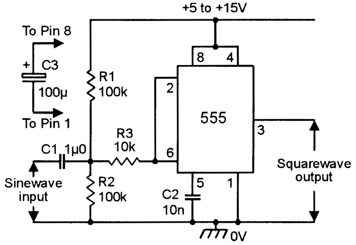 Led Flashlight Circuit Diagram | Using The 555 Timer Ic In Special Or Unusual Circuits Nuts
