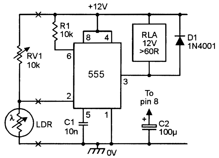 Using The 555 Timer IC In Special Or Unusual Circuits Nuts