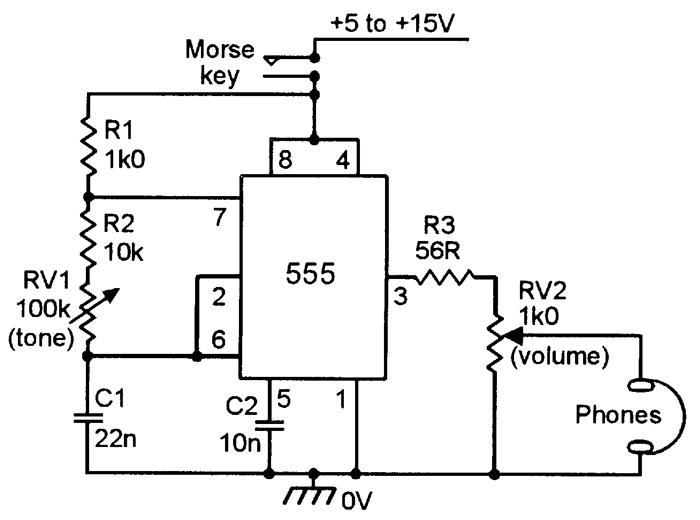 Variable Frequency Generator Circuit Free Electronic Circuits 8085